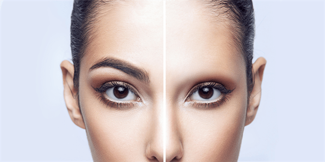 What are the post-operative instructions for eyebrow hair transplant?