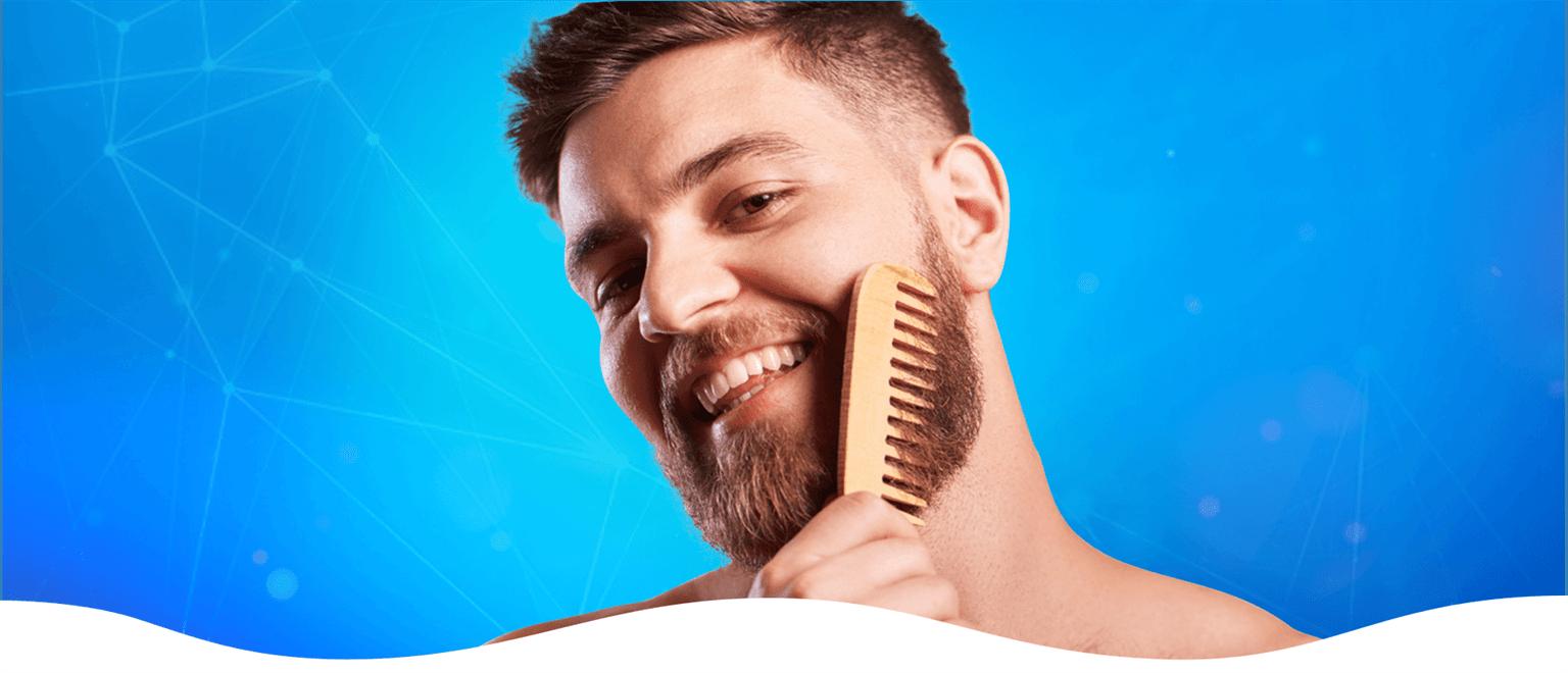 Greffe de barbe et de moustache