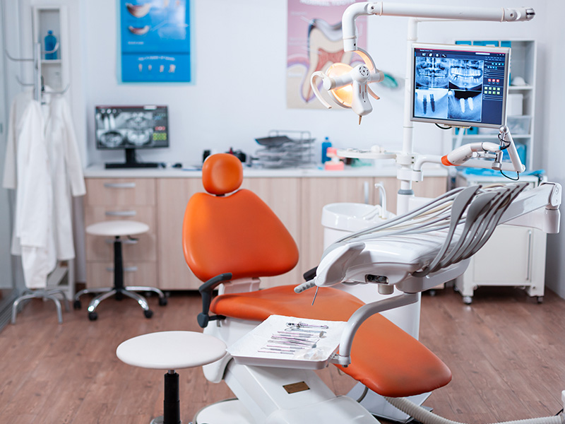 What are the most important treatment procedures in dental clinics?